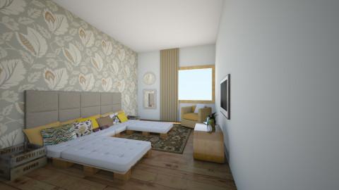 Antosikov Majer Izba 0208 - Bedroom - by dlhagi