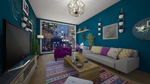 Ishas_Living_Room - by AlexiiisNiicole