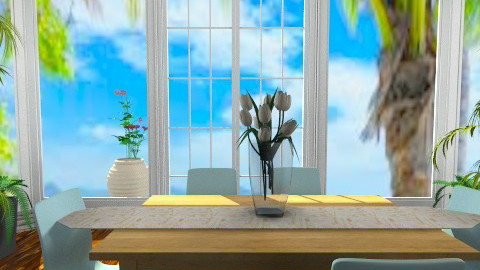 Summer Is Here - Modern - Dining room - by Jenny_Gon_023