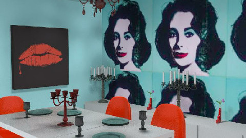 Warhol Dining Room - Dining Room - by AustinPowers