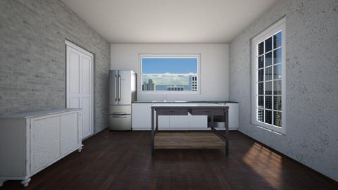 Loft - Living room - by clarktasia