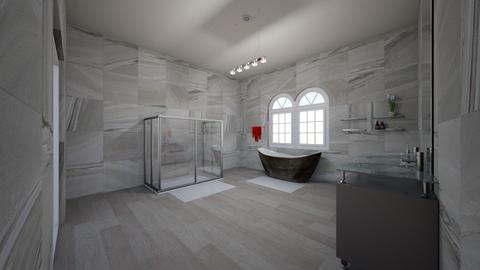bathroom main - by VictoriaMichelle