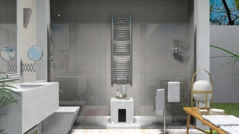 3x3 Bathroom - Eclectic - Bathroom - by du321