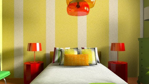 Funky Space - Eclectic - Bedroom - by bibiboo