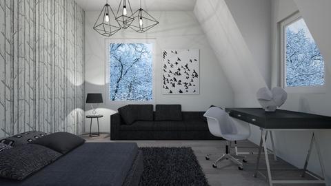 Attic Room - Bedroom - by smileslab
