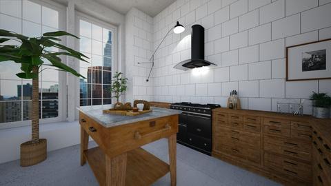 Urban kitchen - Kitchen - by amandafern