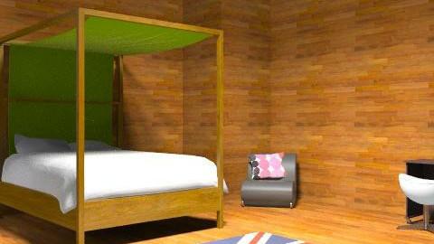 Wood  - Modern - Bedroom - by livvy651