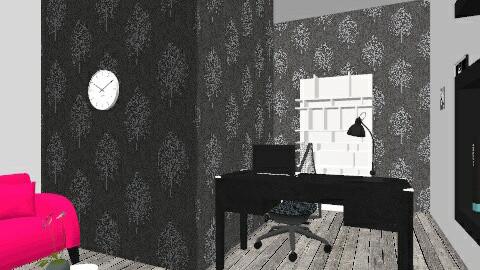 Home office pinkgray - Modern - Office - by lovegirl1782