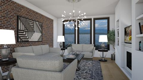 Waterfront I - Eclectic - Living room - by Theadora