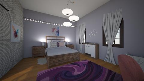 Simple Bedroom - Modern - Bedroom - by zoe128