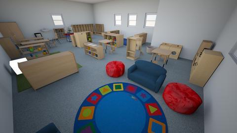 three - Kids room - by WULFHMDFTFUYTTTVRYRHTHTDXEVCQZV