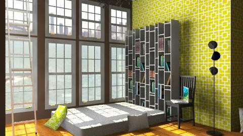 cool house yeah - Masculine - Bedroom - by benss