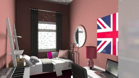 My room 4 single - Glamour - Bedroom - by ruwia