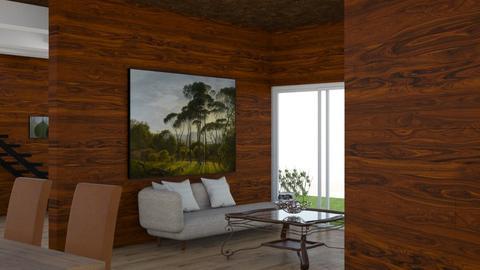 room d - Living room - by DanielFelipe22