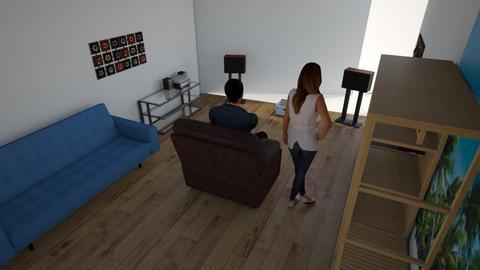 studio d - Living room - by drini1984