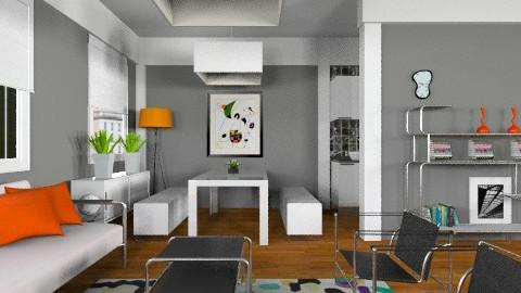 Confetti apt - Modern - Living room - by liling