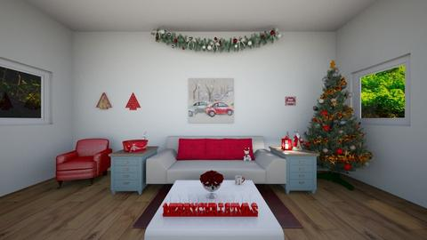 Christmas room - Living room - by Crazy cat girl 10