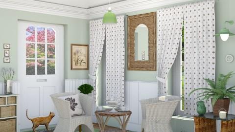 M_ Green garden room - Garden - by milyca8