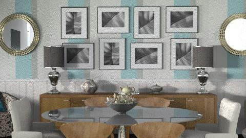 Townhouse - Dining Room2 - Classic - Dining room - by LizyD