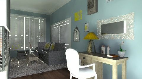 calm living space - Living room - by crobinson325