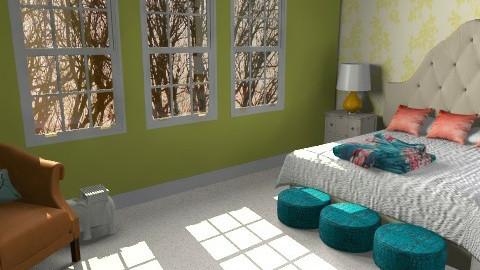 Marlene - Feminine - Bedroom - by allysonrose