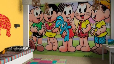 Turma da Monica - Modern - Kids room - by HannaTOTE
