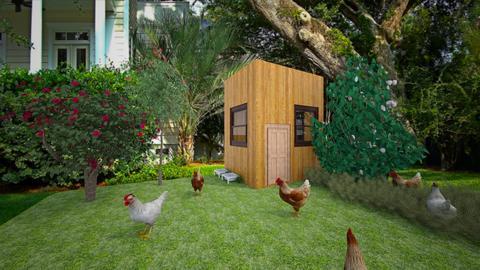 chicken area - Country - Garden - by jade1111