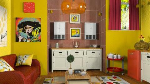 retro - Retro - Kitchen - by RobertaS