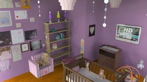 It's A Girl!!!!! - Modern - Kids room - by caroline9