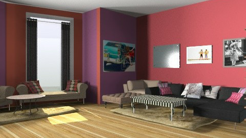 graphic room - Modern - Living room - by tamyres