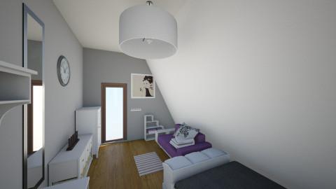Lauras bedroom grownup - Kids room - by eestee