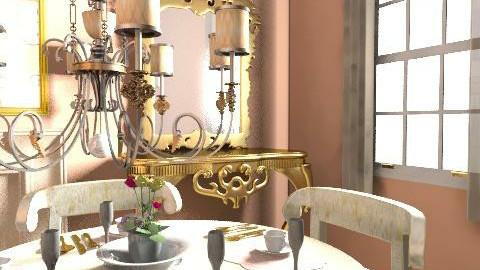 Elegant dinning Room - Classic - Dining room - by kblossey