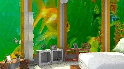 Fish-maniac - Eclectic - Bedroom - by Alternative