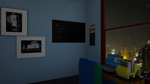 tiny house 3 - Minimal - Office - by Brina Yunio