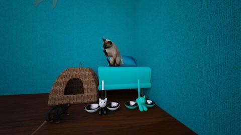 the grand bed room lisa - Retro - Bedroom - by lisitt