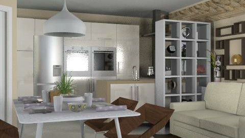 Cotswolds Kitchen 3 - Classic - Kitchen - by liling