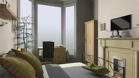 Uni Room - Bedroom - by amyspringett