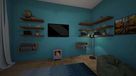 Living room 1 - Modern - Living room - by hollyannahamp