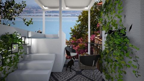 Casa206Balcony - Modern - Garden - by nickynunes