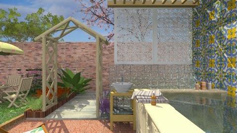 Sunbath - Classic - Garden - by Bibiche