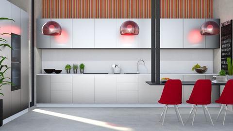 cozinha moderna - Kitchen - by soralobo