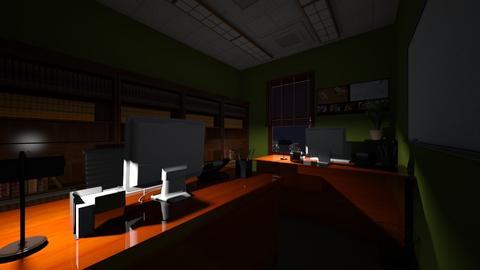 Law Office Night 2 - Office - by SammyJPili