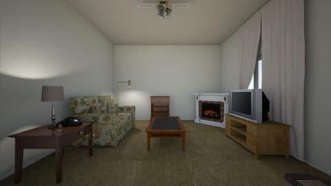 Apartment LR - Living room - by WestVirginiaRebel