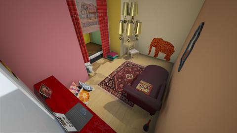 Indian Bedroom - Vintage - Bedroom - by ElsaofDesign