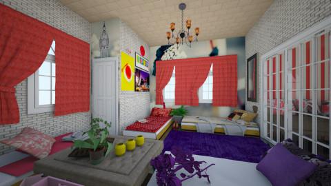 Girls Night Out - Bedroom - by KarolinaZ