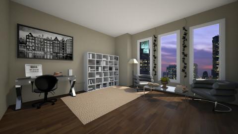Study Room  - by Merryn Krenz