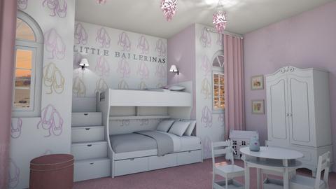 Little Ballerinas - Kids room - by aggelikimar
