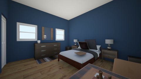 Graham - Bedroom - by emilyehumphreys