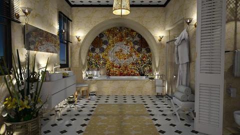 Design 428 Yellow Bathroom - Bathroom - by Daisy320