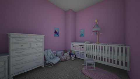 Baby Girl Bedroom - by lil Lew